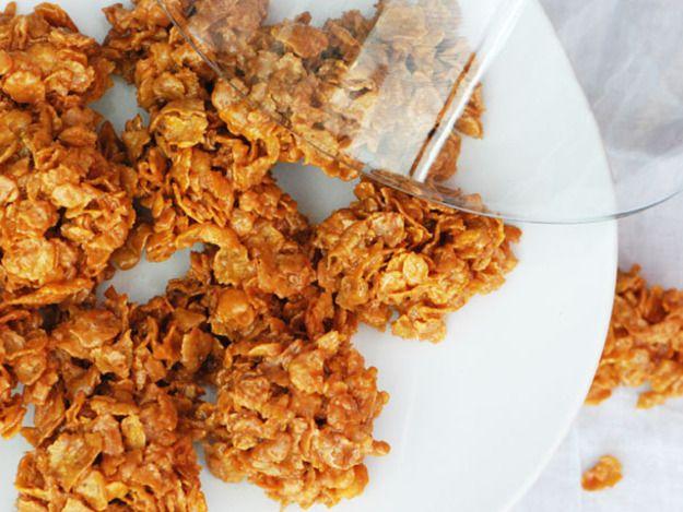 Bocaditos de Corn Flakes y Leche Condensada (Corn Flake Clusters) | R ...