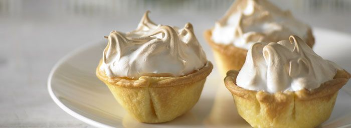 Lemon Meringue Tarts | Christmas | Pinterest