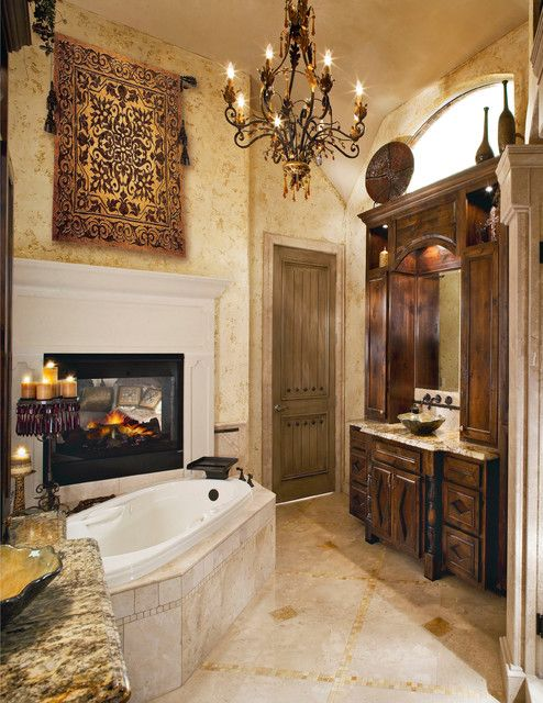 Old World Style Bathroom Old World Mediterranean Italian Spanish