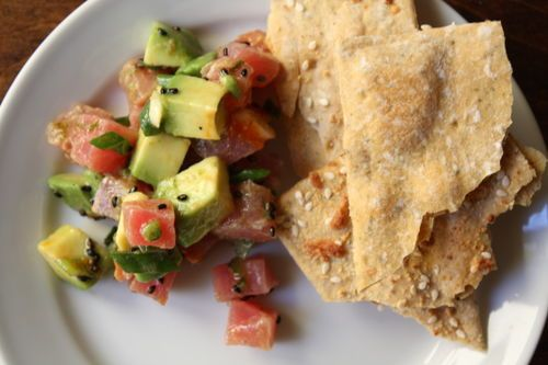Spicy Tuna and Avocado Salsa. | Recipes to Try | Pinterest