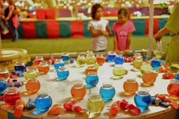 Ping Pong Ball In Fish Bowl Game Fun Carnival Fair