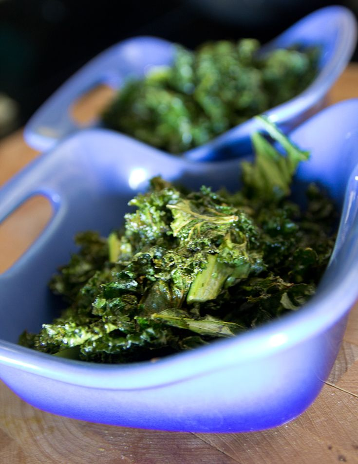 Easy Kale Chips | EAT! | Pinterest