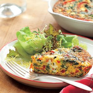 Tasty Frittatas for Any Time of Day | Vegetable Frittata | AllYou.com
