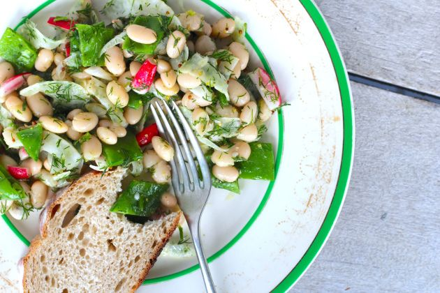 White Bean, Fennel and Dill Salad   Everything salad   Pinterest