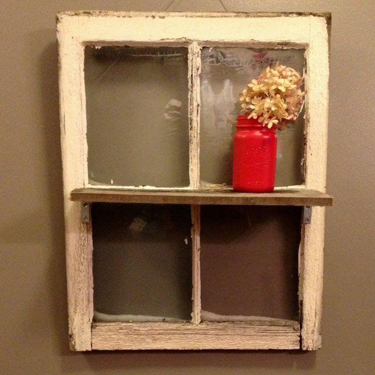 Upcycled Window Home Decorating Pinterest