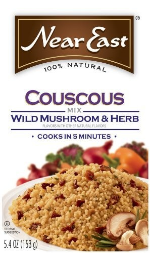 Wild Mushroom Couscous Recipe — Dishmaps