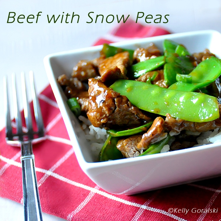 Pioneer Woman's Beef with Snow Peas recipe is a keeper. This is the ...