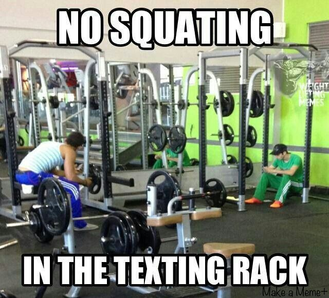 biggest pet peeve in the gym