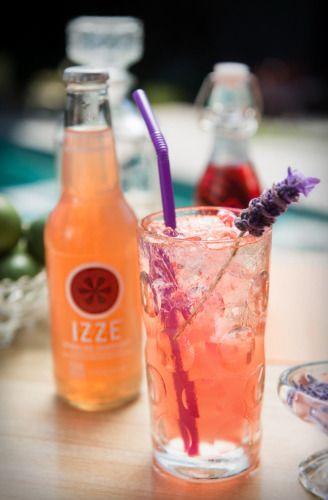 ... Campari 3/4 ounce fresh lime juice 6 ounces IZZE Sparkling Grapefruit