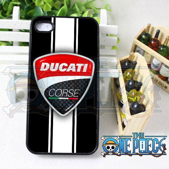 Logo Ducati Corse - iPhone 4/4s/5/5S/5C Case - Galaxy S3 i9300 S4
