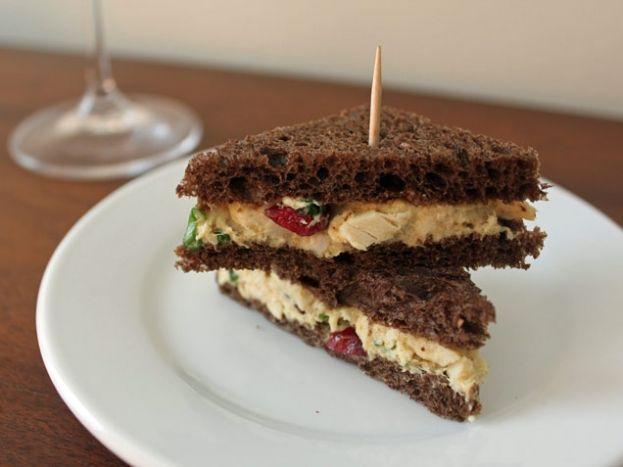 Curried Chicken Salad Bites | Food | Pinterest