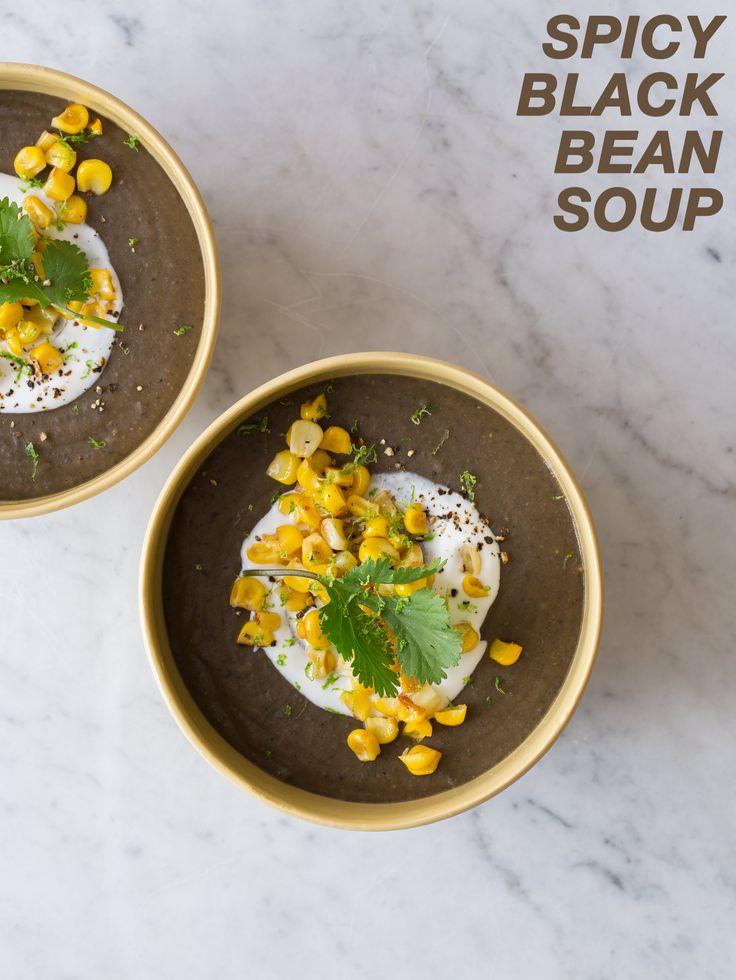 Spicy Black Bean Cakes Recipe — Dishmaps