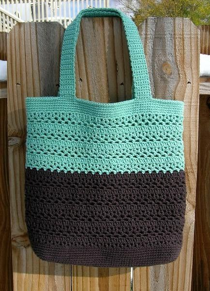 Crochet market bag Crochet 2 Pinterest