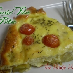 Roasted Potato Frittata by TheHomeHeart | Yum! | Pinterest