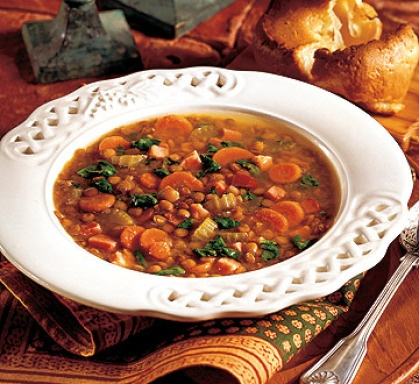 Ham and Lentil Soup | Favorite Recipes | Pinterest