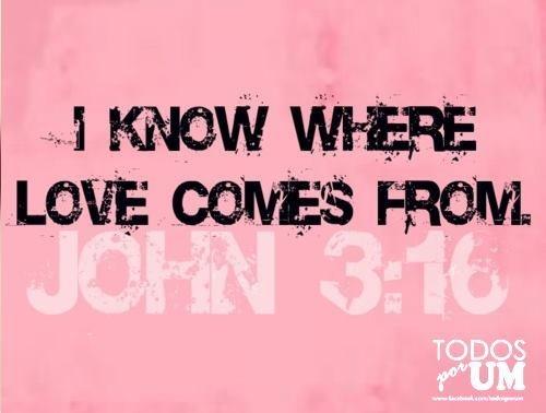 john 3:16 love this verse!