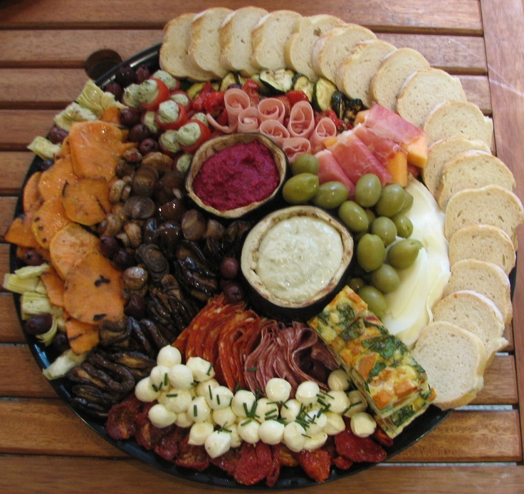 Antipasto platter | Time to Party! | Pinterest