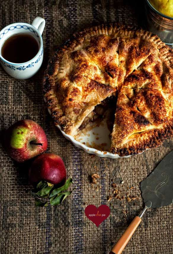 apple chai pie | sweet tooth | Pinterest