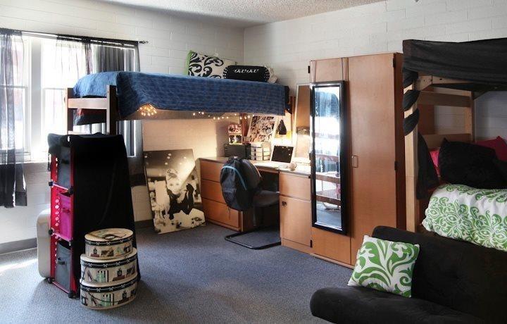 Decorating Ideas > Dorm Ideas NAU  Ideas For College Living  Pinterest ~ 062556_Dorm Room Arrangement Ideas