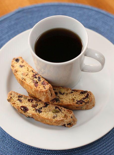 Cranberry-Pistachio Biscotti   Recipe