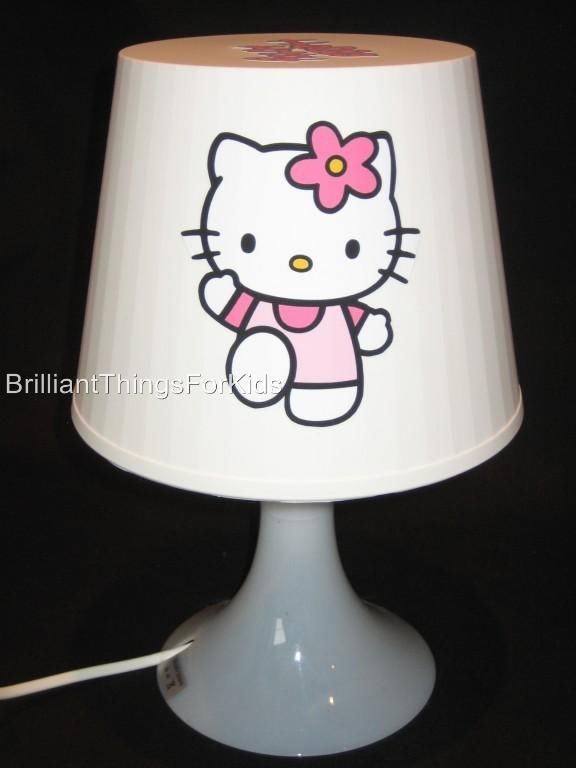 Hello kitty brand new handcrafted bedroom lamp