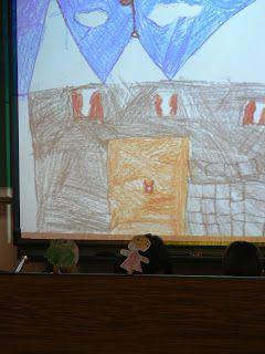 mrs t s first grade class puppet theater