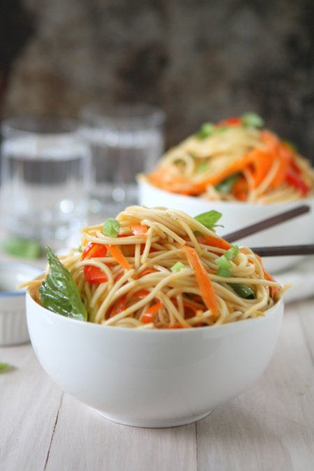 Cold Soba Noodles with Sesame Ginger Scallion Sauce | The Kitchen ...