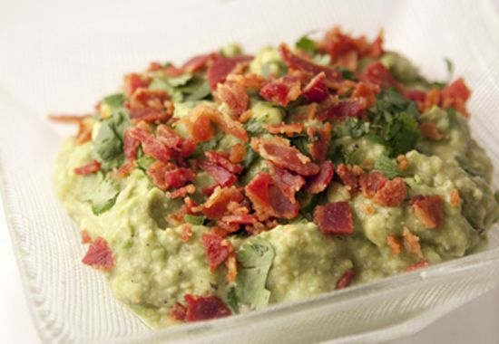 Bacon Guacamole | Appetizing | Pinterest