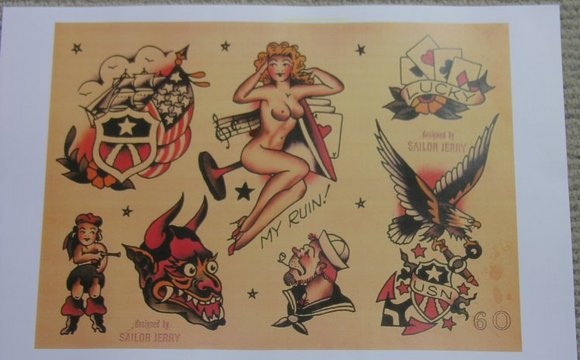 Eagle Sailor Jerry Tattoos Pinterest
