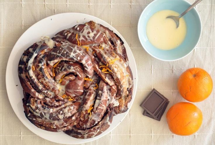 Chocolate orange swirl bread | Food, Glorious Food! | Pinterest