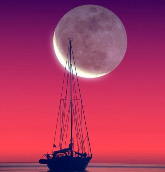"""Enjoy the moon's kiss and 3 of my """"First Love"""" poems! ♥♥ www.paintingyouwithwords.com"""
