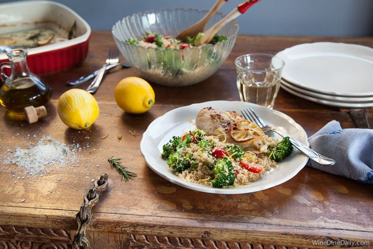 Couscous Salad with Cherry Tomatoes and Broccoli | Recipe