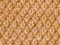 Knitting Double Moss Stitch Instructions : DOUBLE MOSS STITCH KNITTING Free Knitting Projects