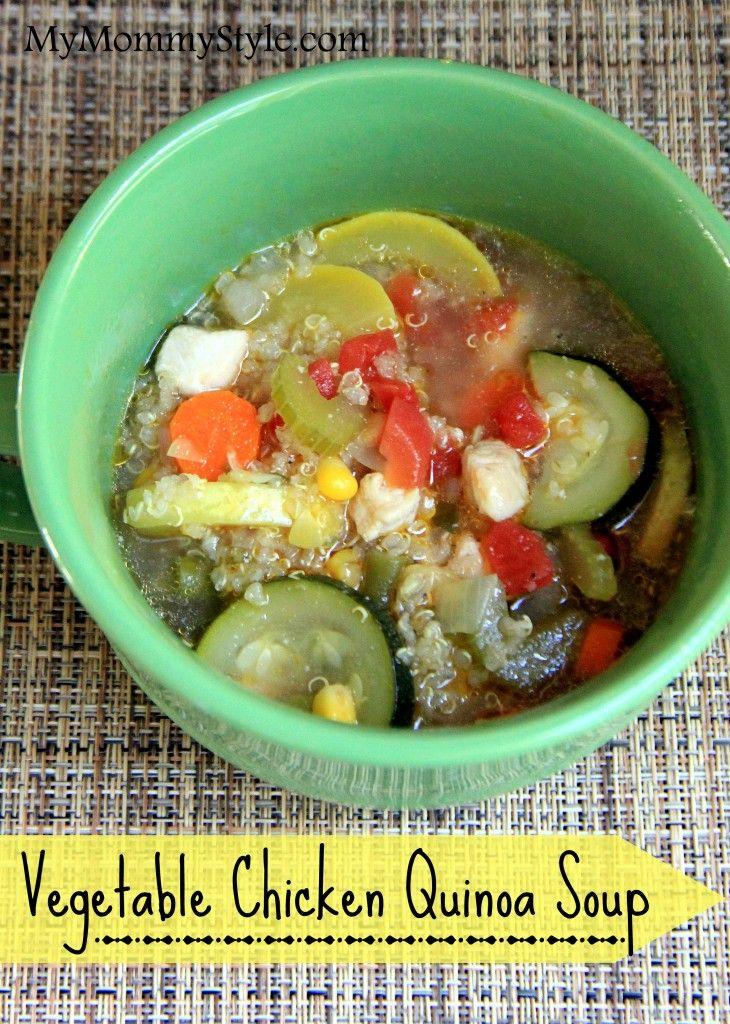 Vegetable Chicken Quinoa Soup | Favorite recipes | Pinterest