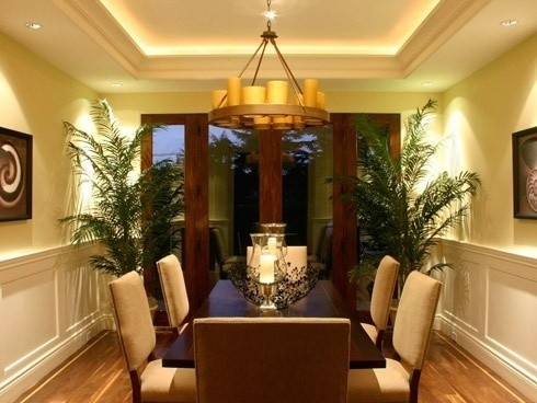 Like The Large Plants In Dining Room DECORACION DE