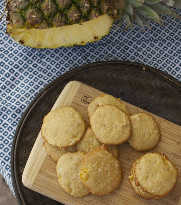Coconut Pineapple Gem Cookies Recipe — Dishmaps