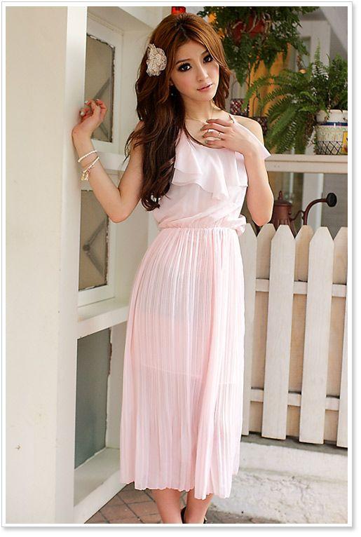 women dress wholesale jk ladies fashion dress Pink