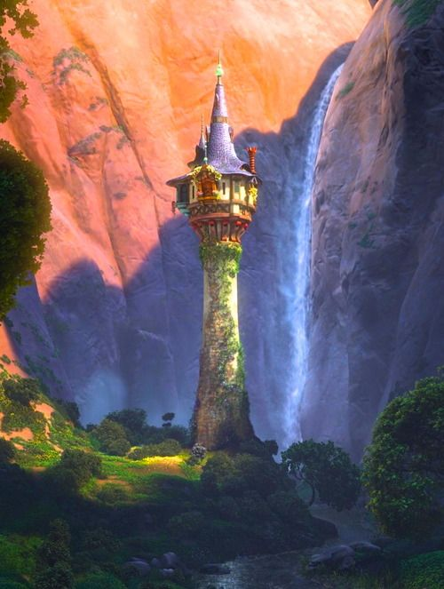 Rapunzel 39 s tower tangled historias pinterest - Tangled tower wallpaper ...