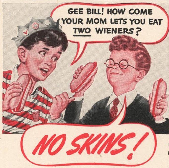 Two Hot Dog Meme