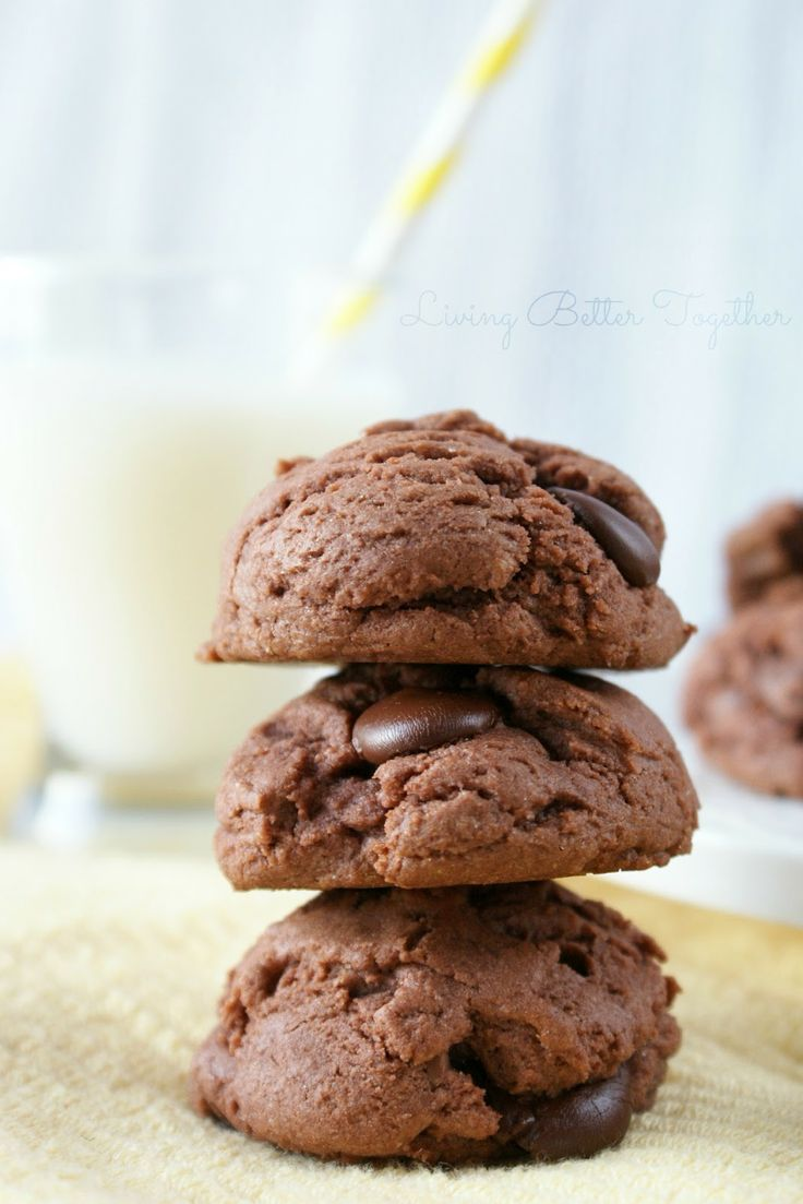 Double Chocolate Chip Pudding Cookies | Recipe