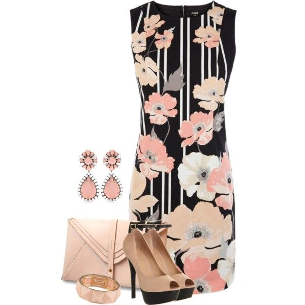 Shift Dress #2, created by ciribiricoccola on Polyvore