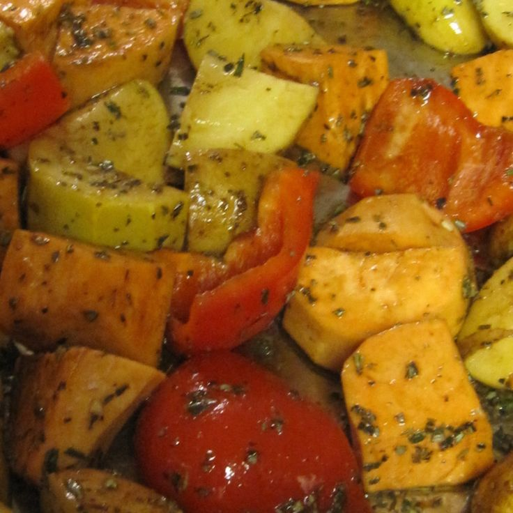 Oven Roasted Vegetables | Vegetables | Pinterest