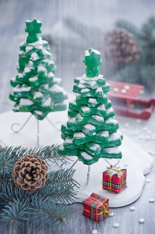 cookie christmas tree | Christmas for[ever] | Pinterest