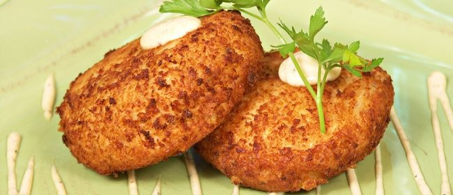 Ginger and Coriander Crab Cakes | Recipe