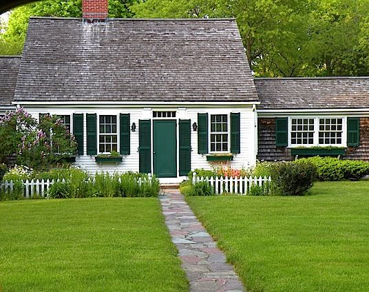 A cape of cape cod cottage curb pinterest for Cape cod cabin