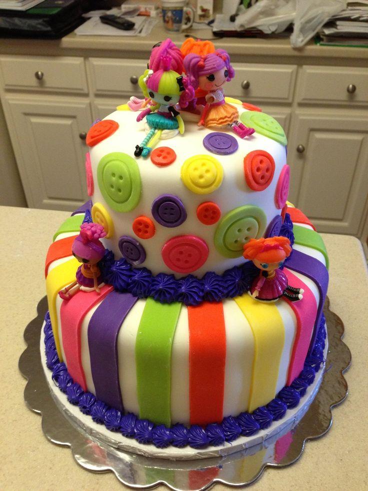 Lalaloopsy cake  Lalaloopsy birthday ideas  Pinterest