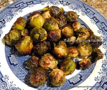 Roasted Brussels Sprouts | All About Veggies | Pinterest