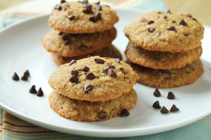 Chocolate Chip Quinoa Cookies #glutenfree and low FODMAP