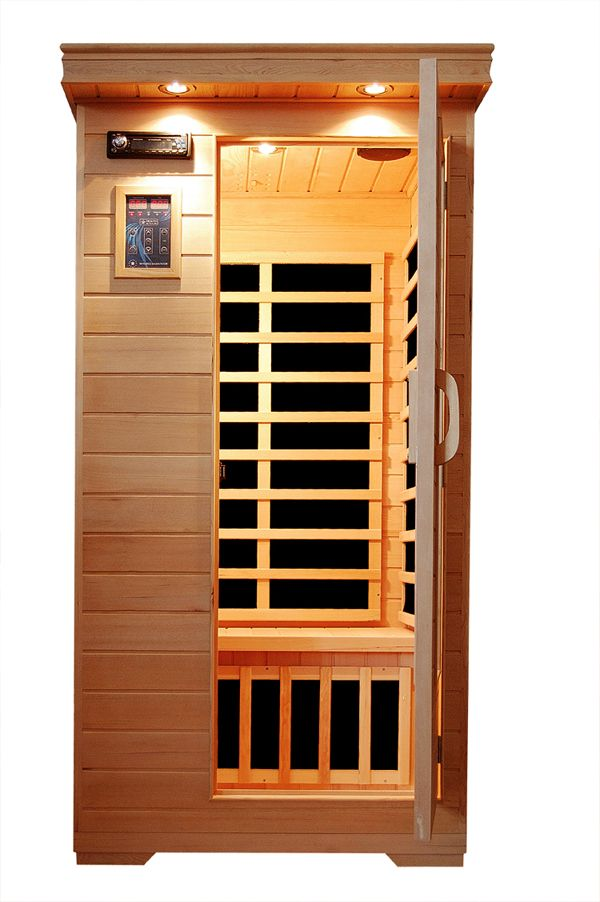 infrared sauna with light therapy wish list pinterest. Black Bedroom Furniture Sets. Home Design Ideas