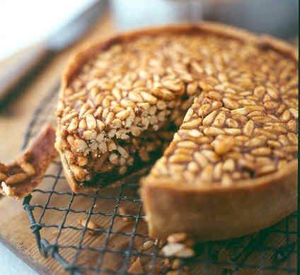 Pine Nut Tart | Food | Pinterest